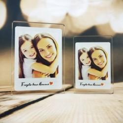 """Targa in Plexiglass Idea Regalo Festa della Mamma """"Photo Plex Personalizzata con Foto"""""""