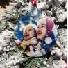 Addobbo natalizio personalizzato pallina/stella/cuore