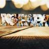 """Scritta in Plexiglass """" I LOVE PAPA' Personalizzata con Foto"""""""