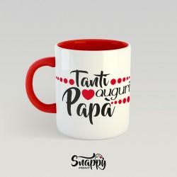 Tazza personalizzata TANTI AUGURI PAPA'