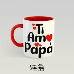 Tazza personalizzata festa del papà idea regalo TI AMO