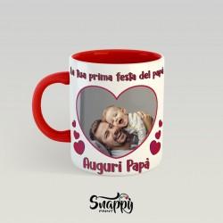 Tazza personalizzata con foto idea regalo FESTA DEL PAPA'