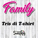 Kit Tris o Poker di T Shirt / Body