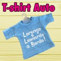 T shirt auto bimbo a bordo